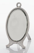 Silver Holloware, American:Mirrors and Vanity-related , AN AMERICAN SILVER VANITY MIRROR. Tiffany & Co., New York, New York, circa 1881. Marks: TIFFANY & CO., STERLING SILVER, 64...