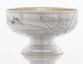 Silver Holloware, American:Bowls, AN AMERICAN SILVER AND SILVER GILT BOWL. Tiffany & Co., NewYork, New York, circa 1877. Marks: TIFFANY & CO.,STERLING-SIL...