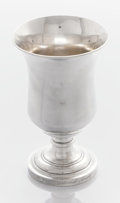 Silver Holloware, American:Wine Goblet, AN AMERICAN SILVER PRESENTATION GOBLET. John B. Jones, Boston,Massachusetts, circa 1830. Marks: J.B. JONES. 6-3/4 x 4-1...
