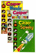 Bronze Age (1970-1979):Cartoon Character, Casper and Spooky File Copy Group (Harvey, 1972-73) Condition:Average NM-.... (Total: 21 Comic Books)