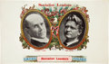 Political:Small Paper (1896-present), Debs & Seidel: Spectacular Cigar Box Label for the 1912 Socialist Candidates....