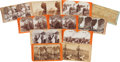 Photography:Stereo Cards, Stereoviews: Lot of Eleven with Western Themes.... (Total: 11 Items)