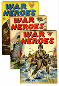 Golden Age (1938-1955):War, War Heroes and other Dell War Titles File Copy Group (Dell,1943-67).... (Total: 7 Comic Books)