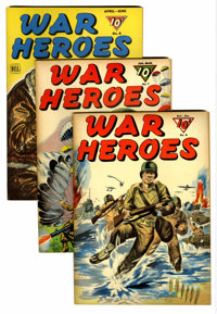 War Heroes and other Dell War Titles File Copy Group (Dell, 1943-67).... (Total: 7 Comic Books)