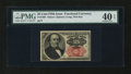 Fractional Currency:Fifth Issue, Fr. 1308 25c Fifth Issue PMG Extremely Fine 40 EPQ....