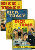 Golden Age (1938-1955):Crime, Dick Tracy Related Group (Dell, 1940s-50s) Condition: Average GD+.... (Total: 19 Comic Books)