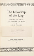 Books:First Editions, J. R. R. Tolkien. The Lord of the Rings, including: . TheFellowship of the Ring. London: George Allen & Unw...