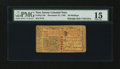 Colonial Notes:New Jersey, New Jersey December 31, 1763 30s PMG Choice Fine 15....