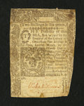Colonial Notes:Connecticut, Connecticut May 10, 1775 2s/6d Good, backed....