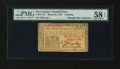 Colonial Notes:New Jersey, New Jersey March 25, 1776 1s PMG Choice About Unc 58 EPQ....