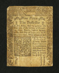 Colonial Notes:Connecticut, Connecticut June 19, 1776 9d Very Good, backed....
