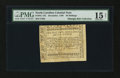 Colonial Notes:North Carolina, North Carolina December, 1768 40s PMG Choice Fine 15 Net....