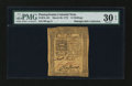 Colonial Notes:Pennsylvania, Pennsylvania March 20, 1773 14s PMG Very Fine 30 EPQ....