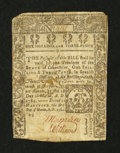 Colonial Notes:Connecticut, Connecticut March 1, 1780 1s/3d Good, backed....