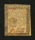 Colonial Notes:Pennsylvania, Pennsylvania April 25, 1776 3d About New....