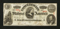 Confederate Notes:1863 Issues, T56 $100 1863 Dropped Digit Error.. ...