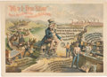 Political:Posters & Broadsides (1896-present), Anti-William Jennings Bryan: Colorful 1896 Campaign Poster....