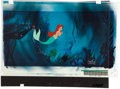 Movie/TV Memorabilia:Original Art, The Little Mermaid Original Production Cel....