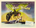 "Movie Posters:Science Fiction, The Wasp Woman (Film Group, 1959). Half Sheet (22"" X 28"").. ..."