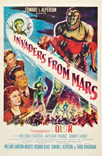 """Invaders from Mars (20th Century Fox, 1955). One Sheet (27"""" X 41"""")"""