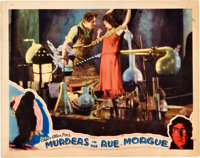 """Murders in the Rue Morgue (Universal, 1932). Lobby Card (11"""" X 14"""")"""