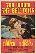 """Movie Posters:Drama, For Whom the Bell Tolls (Paramount, 1943). One Sheet (27"""" X 41"""")Style A.. ..."""