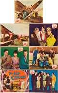 "Movie Posters:Drama, The Air Circus (Fox, 1928). Title Lobby Card and Lobby Cards (6)(11"" X 14"").. ... (Total: 7 Items)"