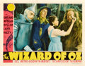 "Movie Posters:Fantasy, The Wizard of Oz (MGM, 1939). Lobby Card (11"" X 14"").. ..."
