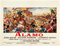 """Movie Posters:Western, The Alamo (United Artists, 1960). Belgian (19.5"""" X 25.5"""").. ..."""