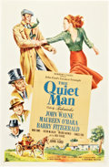 "Movie Posters:Drama, The Quiet Man (Republic, 1952). One Sheet (27"" X 41"").. ..."