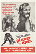 "Movie Posters:Science Fiction, Planet of the Apes (20th Century Fox, 1968). Advance One Sheets (3)(27"" X 41"").. ... (Total: 3 Items)"