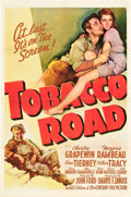 "Movie Posters:Drama, Tobacco Road (20th Century Fox, 1941). One Sheet (27"" X 41"") StyleB.. ..."