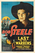 "Movie Posters:Western, Last of the Warrens (Supreme, 1936). One Sheet (27"" X 41"") and Lobby Card Set of 8 (11"" X 14"").. ... (Total: 9 Items)"