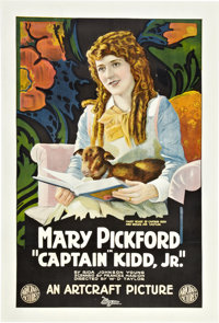 "Captain Kidd, Jr. (Artcraft, 1919). One Sheet (27"" X 41"")"