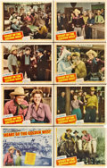 """Movie Posters:Western, Heart of the Golden West (Republic, 1942). Lobby Card Set of 8 (11"""" X 14"""").. ... (Total: 8 Items)"""