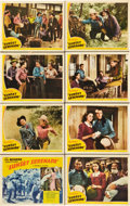 "Movie Posters:Western, Sunset Serenade (Republic, 1942). Lobby Card Set of 8 (11"" X 14"").. ..."