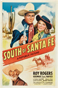 """Movie Posters:Western, South of Santa Fe (Republic, 1942). One Sheet (27"""" X 41"""").. ..."""