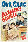 "Movie Posters:Short Subject, Alfalfa's Double (MGM, 1940). One Sheet (27"" X 41"").. ..."