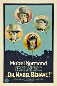 "Oh, Mabel Behave (Triangle, 1922). One Sheet (27"" X 41"")"