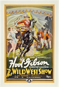 "The Wild West Show (Universal, 1928). One Sheet (27"" X 41"")"