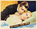 "Movie Posters:Drama, No Man of Her Own (Paramount, 1932). Lobby Card (11"" X 14"").. ..."