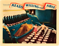"""Ready, Willing and Able (Warner Brothers, 1937). Lobby Card (11"""" X 14"""")"""