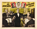"Movie Posters:Musical, The Singing Fool (Warner Brothers, 1927). Lobby Card (11"" X 14"")....."