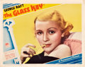 "Movie Posters:Crime, The Glass Key (Paramount, 1935). Lobby Card (11"" X 14"").. ..."