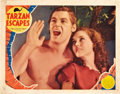 "Movie Posters:Adventure, Tarzan Escapes (MGM, 1936). Lobby Card (11"" X 14"").. ..."