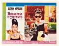 "Movie Posters:Romance, Breakfast at Tiffany's (Paramount, 1961). Lobby Card (11"" X 14"").. ..."