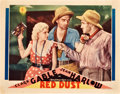 "Movie Posters:Romance, Red Dust (MGM, 1932). Lobby Card (11"" X 14"").. ..."