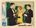 "Movie Posters:Crime, Doorway to Hell (Warner Brothers, 1930). Lobby Card (11"" X 14"")....."