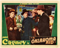 "Movie Posters:Western, The Oklahoma Kid (Warner Brothers, 1939). Lobby Card (11"" X 14"")....."