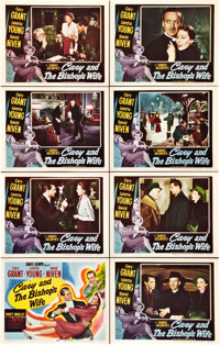 """The Bishop's Wife (RKO, 1948). Lobby Card Set of 8 (11"""" X 14""""). ... (Total: 8 Items)"""